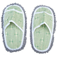 Wholesale Chenille Lazy Slippers with Bamboo Sole TBH