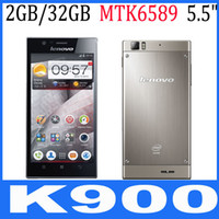 5.5 Android 2G Lenovo K900 5.5inch AH-IPS FHQ Screen Intel Atom 2.0GHz Smartphone 2GB+32GB 2GB+16GB 13.0MP 3G GPS