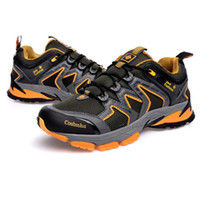 Men Winter Canvas New 2014 designer hiking shoes men climbing trekking walking shoes outdoor fun & sports