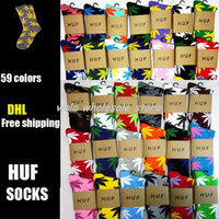 Socks Unisex Knee Thick version !!!! 1000 pairs lot 420 Marijuana Weed Leaf Crew Sport Socks HUF Plantlife Socks~Diamond Supply