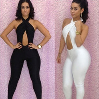Wholesale NWT Club Women s FAshion Costume Clothing Hang the Neck Sexy Dresses Catsuit Costumes