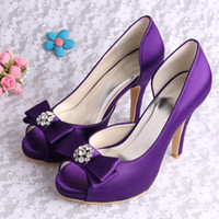 Kids Purple High Heels  Tsaa Heel