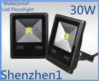 Wholesale 30W New types Flat panel LED Flood Light Warm White White led Outdoor Floodlight Waterproof IP65 V Led floodlight