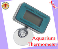 Wholesale New style Digital Submersible Fish Tank Aquarium LCD Thermometer