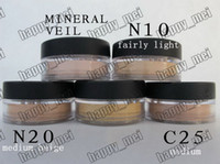mineral foundation - 2014 Factory Direct Pieces New Minerals Powder Original Mineral Veil Foundation N10 N20 C25 Mineral Veil