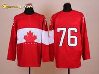 Ice Hockey Men Full New 76 Subban Stitched Hockey Jerseys 2014 Olympic Hockey Jerseys Brand Newest Hockey Apparel Cheap Hockey Uniform for Sale