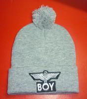 Wholesale New Arrival Boy London Beanies Pom Pom Beanies Fashion Knit Beanies Snapbacks Hats Caps Winter Street Wear Beanies