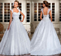 2014 New Vestidos De Novia Vintage Ball Gown Wedding Dresses...