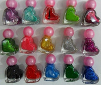 Best 216Pcs lot Nail Polish Mult-color 5ml Quick Dry Heart shape Cute Sweet Summer