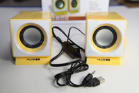 Wholesale DHL USB Portable Speaker Original Mini speaker for Computer Laptop Audio speaker Mini Audio