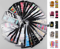 Decal 2D Plastic Excellent New Desgin Style Patch Sticker For UV Gel Polish Acrylic Nail Art Decoration 28pack lot Different Image Product 651