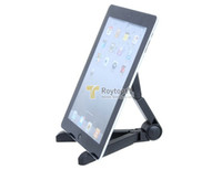 Wholesale Portable Fold up Plastic Stand for Apple iPad Galaxy Tab Kindle Fire and quot quot Tablet PC