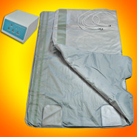 Wholesale Top Quality Brand New ZONE FIR FAR INFRARED SLIMMING SAUNA BLANKET SPA WEIGHT LOSS PORTABLE A