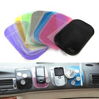 Wholesale Anti Slip Mat Non Slip Car Dashboard Sticky Pad Mat Powerful Silica Gel Magic Car Sticky Pad
