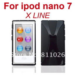 Wholesale TPU case For iPod Nano X Line Soft Cover Case For Ipod Nano7 frees hipping