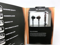 Wholesale Sol Republic AMPS HD High Definition i6 Sound Engine Tangle free cable In Ear Headphones Earphones with MIC and Control Talk waitingyou