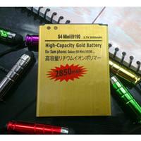 Wholesale High Capacity mAh Gold Standard Battery For Samsung GALAXY S4 Mini I9190