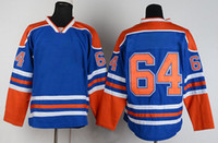 Wholesale Oilers Yakupov Blue Brand Sports Jerseys Ice Hockey Jerseys Fashion Hockey Jerseys Cheap Athletic Jerseys Mix Order Top Players Hot Sale