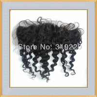 Wholesale Hot Sell inch Cheap Natural Color Deep Wave Lace Frontal Virgin Indian Human Hair AAAAA Grade
