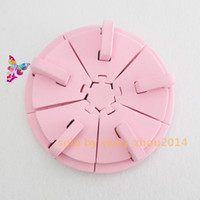 Wholesale Display Nail Art Tips Practice Stand Nail Art Tips Display Stand Tool Pink Sponge Nail Holder