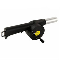 Wholesale Starter Blower Wind Barbecue Grill Fire Hand Crank Brand New
