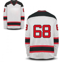 Wholesale Devils Jagr Premier Road Jersey White New Hockey Jerseys High Quality Mens Sports Jerseys Hot Sale Outdoor Apparel Players Uniform