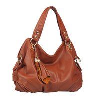 Wholesale Color block navy style canvas fashion brief shoulder bag handbag large bag