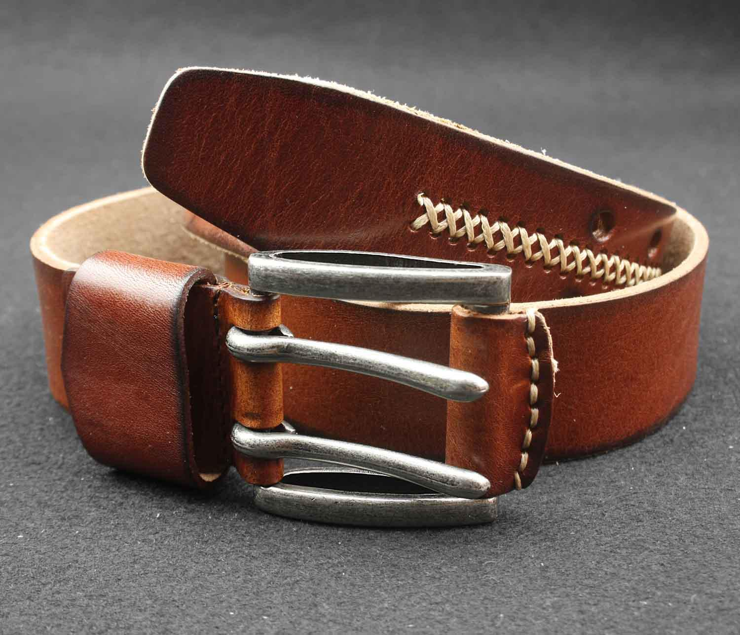 Casual Belts for Men. Men's leather belts from Orion Leather are designed for all manner of occasion. Here, you will find casual belts fit for everyday use at the home, office, working outdoors, or taking care of business around town.