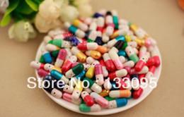 Wholesale Random Colors Love Pills Capsule Message Pills Valentine Gift love paper letter