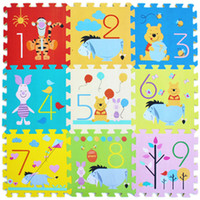 Wholesale Hot Sale per Cartoon EVA Floor Mat Baby s Climb Blanket Eva Foam Puzzle Mat Game Carpet Crawling Rug