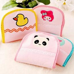 Wholesale Mixed style cartoon animal women NAPKIN SANITARY TOWEL STORAGE BAG Bags Lovely fashion cute lady napkin storage bags Pratcial charm bag
