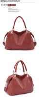 Wholesale Cheap Burgundy Bags - Women's Coffee Designer portable Handbag shoulder Messenger Bag Travelling bags cheap