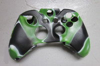Cheap controller case silicon rubber camouflage console case for xbox one 250