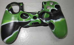 controller case silicon rubber camouflage console case for PS4