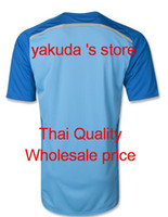 Customized Thai Quality Fans style Spain 2014 World Cup Goal...