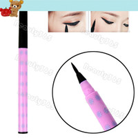 Waterproof Pencil Eyeliner New Black Soft Brush Liquid Eyeliner Pen Lasting Eye Liner Pencil Makeup Cosmetic 10830