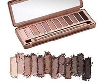 palette - lowest price hot sell NEW NUDE color eyeshadow Palette with brush