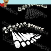 Wholesale 2013 New Arrival Ear Taper Plug Kit mm mm Gauges Expander Set Stretchers