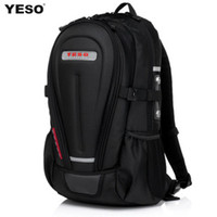 Wholesale Yeso backpack travel bag hard shell male ride motorcycle backpack laptop bag