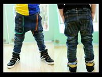 Wholesale Hot Slae Autumn Winter Latest New Children Jeans Fashion kids boys jeans trousers