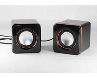 4.1 Universal HiFi Mini speaker e-02a notebook speaker usb mini 2.0 small speaker low price MP3 player amplifier