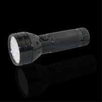 Cheap Free Shipping 50pcs lot 51 LED UV Ultra Violet Blacklight Flashlight Torch Light Middle Switch 3aaa Battery (not included)