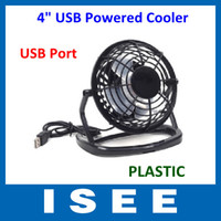 Wholesale Plastic Portable PC Notebook Laptop Black Mini Desk Table USB Powered Cooler Cooling Fan
