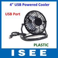Wholesale Plastic Portable PC Notebook Laptop Black Mini Desk Table USB Powered Cooler Cooling Fan