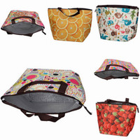 Wholesale Picnic Oxford Lunch Pouch Cooler Bag Insulated Food Keep Warm Bag Ice Bag Style Choose ZGT