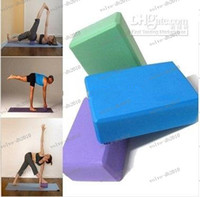 Wholesale LLFA4256 Yoga Pilates Foam Foaming Block Brick Stretch Aid Health Fitness Exercise Gym