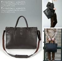 Totes Men Plain HOT! Fashion New Korean Men bag designer men's Handbag PU leather bag Cheap Computer bags cross body bag laptop bag 3160