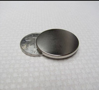 Wholesale D30 MM super strong N50 Rare Earth Magnets Neodymium Magnet Block