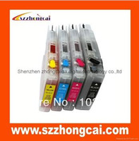 Wholesale 1 set short refillable cartridge LC75 LC79 LC1240 LC1280 LC73 LC77 LC400 LC450 LC12 LC17 For Brother MFC J6510DW