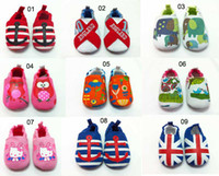 2014 New baby boys girls shoes kids Polka Dots Soft Sole Ski...